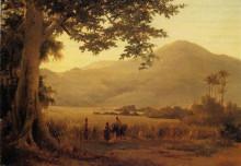 """Репродукция картины """"Antilian Landscape, St. Thomas"""" художника """"Писсарро Камиль"""""""