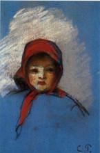 "Картина ""portrait of jeanne rachel (minette)"" художника ""писсарро камиль"""