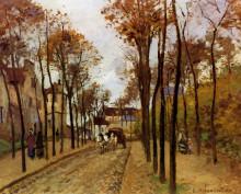 """Картина """"Boulevard des Fosses. Pontoise"""" художника """"Писсарро Камиль"""""""