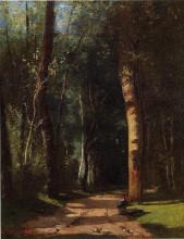 """Копия картины """"In the Woods"""" художника """"Писсарро Камиль"""""""