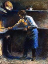 """Репродукция картины """"eugene murer at his pastry oven"""" художника """"писсарро камиль"""""""