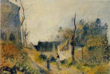 """Копия картины """"Landscape at Valhermeil"""" художника """"Писсарро Камиль"""""""