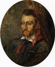 """Копия картины """"portrait of eugene murer"""" художника """"писсарро камиль"""""""