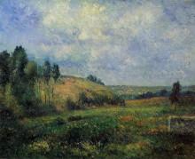 "Копия картины ""landscape, near pontoise"" художника ""писсарро камиль"""