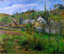 "Картина ""Le Valhermeil, near Pontoise"" художника ""Писсарро Камиль"""