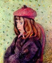 "Картина ""portrait of felix pissarro"" художника ""писсарро камиль"""