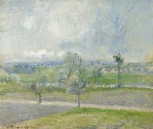 "Копия картины ""Valhermeil near Oise, Rain effect"" художника ""Писсарро Камиль"""