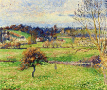 """Картина """"Field at Eragny"""" художника """"Писсарро Камиль"""""""