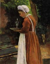 "Копия картины ""the maidservant"" художника ""писсарро камиль"""