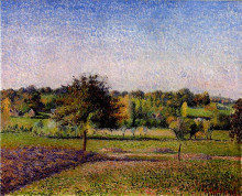 "Картина ""meadows at eragny"" художника ""писсарро камиль"""