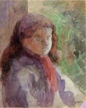 "Копия картины ""Portrait of the Artist's Son, Ludovic Rudolphe"" художника ""Писсарро Камиль"""