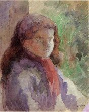"Репродукция картины ""portrait of the artist's son, ludovic rudolphe"" художника ""писсарро камиль"""