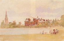 "Картина ""Kensington Gardens"" художника ""Писсарро Камиль"""