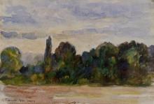 """Картина """"Trees, Eragny"""" художника """"Писсарро Камиль"""""""