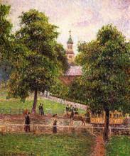 """Картина """"Church at Kew"""" художника """"Писсарро Камиль"""""""