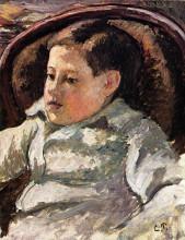 """Картина """"portrait of paulemile"""" художника """"писсарро камиль"""""""
