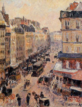 """Картина """"rue saint lazare"""" художника """"писсарро камиль"""""""