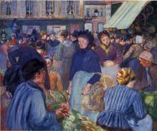 """Картина """"The Market at Gisors"""" художника """"Писсарро Камиль"""""""
