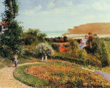 "Копия картины ""the garden of the hotel berneval"" художника ""писсарро камиль"""