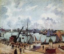 """Копия картины """"Outer harbour of Le Havre"""" художника """"Писсарро Камиль"""""""