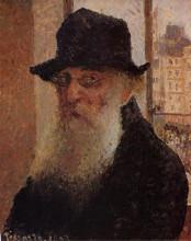 """Картина """"self portrait"""" художника """"писсарро камиль"""""""