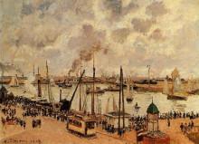 """Картина """"The Port of Le Havre"""" художника """"Писсарро Камиль"""""""