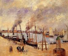 """Картина """"The Port of Le Havre 2"""" художника """"Писсарро Камиль"""""""