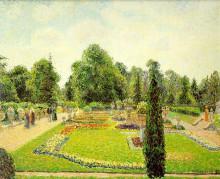 """Репродукция картины """"Kew, the Path to the Main Conservatory"""" художника """"Писсарро Камиль"""""""