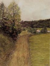 """Картина """"landscape 2"""" художника """"писсарро камиль"""""""