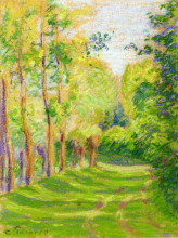 """Картина """"landscape at saint charles"""" художника """"писсарро камиль"""""""