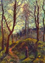 "Копия картины ""Landscape with Big Trees"" художника ""Писсарро Камиль"""