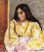"""Картина """"portrait of jeanne"""" художника """"писсарро камиль"""""""