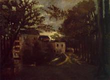 "Репродукция картины ""The Mill at La Roche Goyon"" художника ""Писсарро Камиль"""