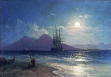 """Картина """"вид моря ночью"""" художника """"айвазовский иван"""""""