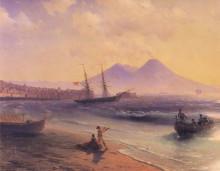 """Картина """"возвращение рыбаков. близ неаполя"""" художника """"айвазовский иван"""""""