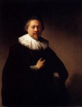 """Копия картины """"portrait of a man"""" художника """"рембрандт"""""""