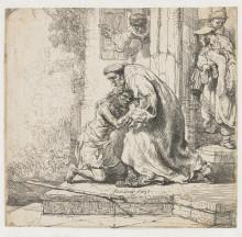 "Копия картины ""the return of the prodigal son"" художника ""рембрандт"""