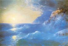 """Копия картины """"наполеон на острове святой елены"""" художника """"айвазовский иван"""""""