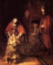 """Копия картины """"возвращение блудного сына"""" художника """"рембрандт"""""""