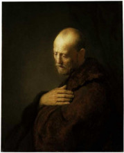 "Картина ""Old Man in Prayer"" художника ""Рембрандт"""