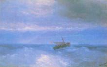 """Картина """"кавказская гряда с моря"""" художника """"айвазовский иван"""""""