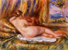 """Картина """"Reclining Nude"""" художника """"Ренуар Пьер Огюст"""""""