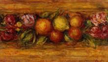 "Картина ""Garland of Fruit and Flowers"" художника ""Ренуар Пьер Огюст"""