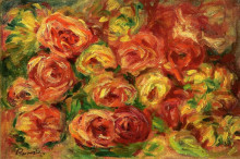 "Копия картины ""armful of roses"" художника ""ренуар пьер огюст"""
