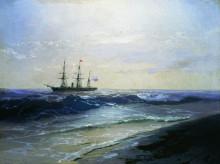 """Картина """"море. солнечный день"""" художника """"айвазовский иван"""""""
