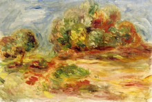 """Копия картины """"Cagnes Landscape"""" художника """"Ренуар Пьер Огюст"""""""
