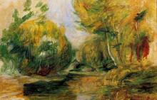 "Картина ""Landscape"" художника ""Ренуар Пьер Огюст"""