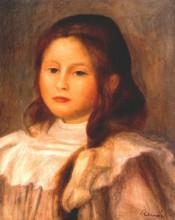"""Репродукция картины """"portrait of a child"""" художника """"ренуар пьер огюст"""""""