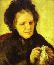 "Картина ""portrait of mme. theodore charpentier"" художника ""ренуар пьер огюст"""