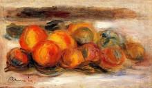 "Картина ""still life with peaches"" художника ""ренуар пьер огюст"""
